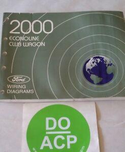 2000 FORD ECONOLINE / CLUB WAGON WIRING DIAGRAMS SERVICE ...