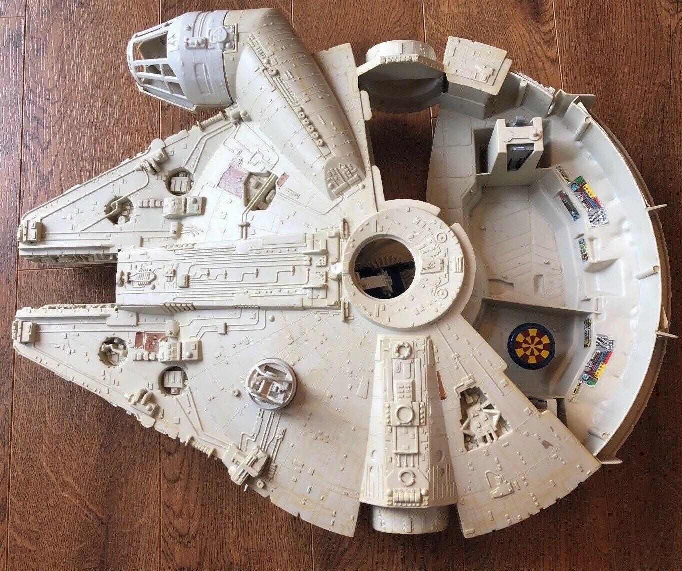 VINTAGE Star Wars Kenner Millennium Falcon - For Parts or Restoration 1979