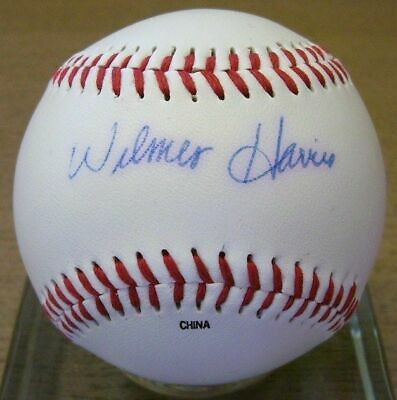 Autographed Wilmer Harris 8x10 Negro League Photo