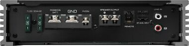 Kenwood Class D Digital Mono Amplifier with Variable Low-Pass Crossover