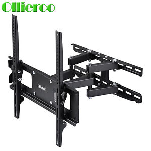 ollieroo full motion tv wall mount vesa bracket 32 46 50 55 60 inch flat screen ebay. Black Bedroom Furniture Sets. Home Design Ideas
