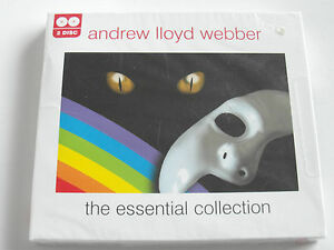 Andrew-Lloyd-Webber-The-Essential-Collection-Sealed-CD-Album-Used-Very-Good