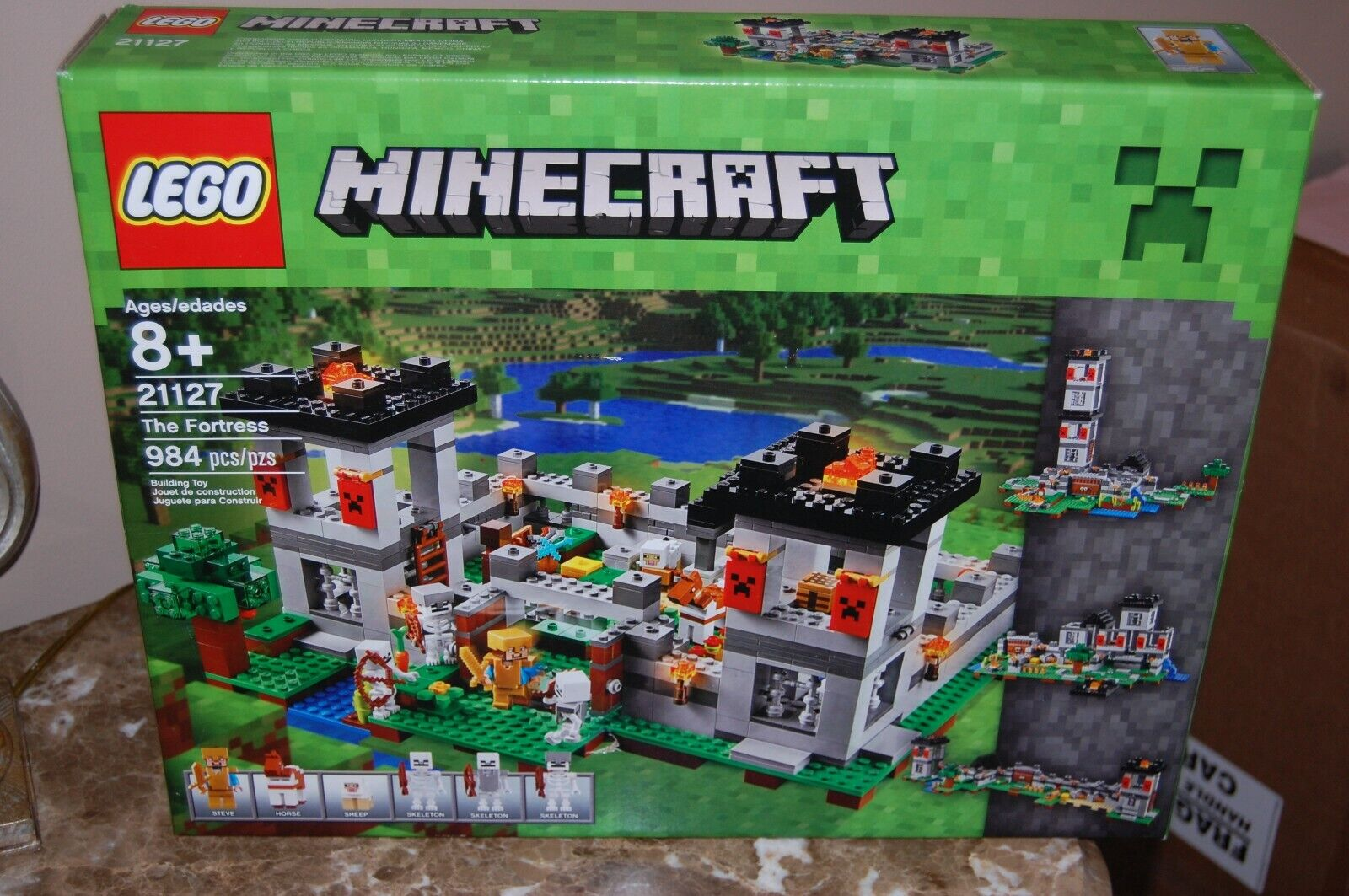 LEGO Minecraft 2016 The Fortress The Fortress Fortress 21127(FREE PRIORITY SHIP)