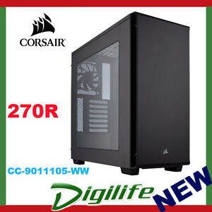 on sale 2e578 4928d Details about Corsair Carbide Series 270R Mid Tower ATX Gaming Computer PC  Case With Window