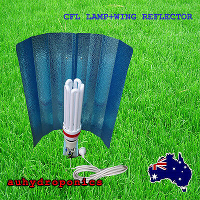 ALUMINUM WING REFLECTOR+130W 14000K COMPACT FLUORESCENT LAMP