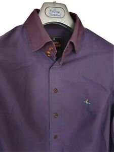 Mens-chic-MAN-by-VIVIENNE-WESTWOOD-long-sleeve-shirt-size-III-medium-RRP-260