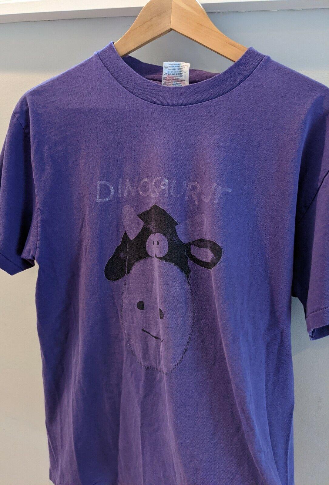 Vintage Dinosaur Jr T-Shirt 1990's Purple Cow Rar… - image 1