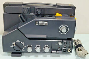 Vintage Sankyo Sound 500 Super 8 Single 8 Projector 8mm Japanese TESTED, WORKING