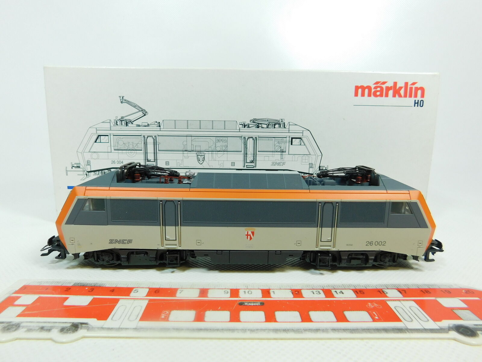 BR1-2Märklin H0 Ac 3334 Electric Locomotive E-Locomotive 26 002 SNCF Nem Kk,VG