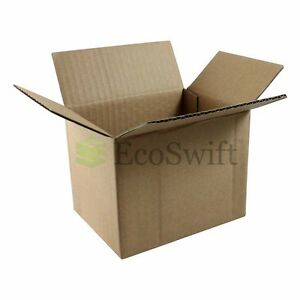 100 5x4x4 Cardboard Packing Mailing Moving Shipping Boxes Corrugated Box Cartons