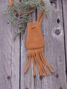 Buckskin-leather-medicine-bag-Leather-crystal-bag-Amulet-bag-Leather-necklace