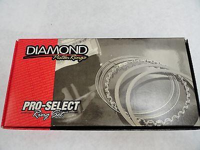 Diamond Pistons Rings #09014185  4.185 Bore-File Fit 1//16 3//16 1//16