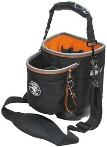 064a4e96515d Details about Klein Tools Tradesman Pro Shoulder Pouch Organizer Tool Bag  Box Storage 7.75 in.