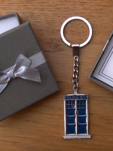 Personnalisé meilleur homme Page Garçon Cadeau Merci Tardis police box Porte-clés Multi
