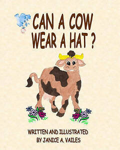 Image Is Loading Can A Cow Wear Hat The Adventures