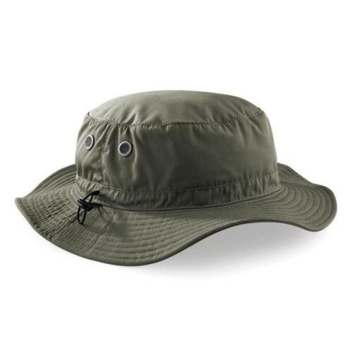 Cargo Secchio Cappello Da Sole UPF50 Uomo Retro Bush Safari a piedi pesca