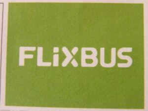 Flixbus Gutschein 2021