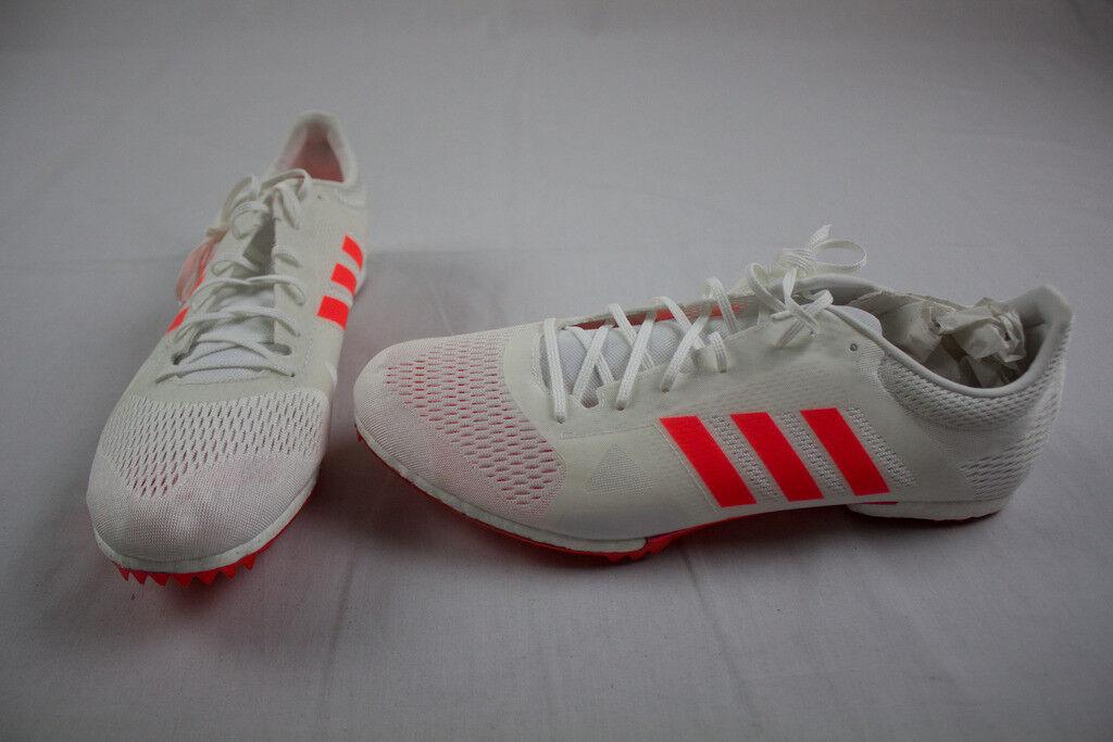 Nuove adidas adizero md   bianco, la formazione (uomini di dimensioni multiple)   Modalità moderna    Uomo/Donne Scarpa