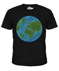 Befangen Verlegen Kritzelte Erde Kinder T-shirt Tee Shirt Unisex Jungen MÄdchen Kleinkind Bequem Zu Kochen Gehemmt Unsicher Selbstbewusst