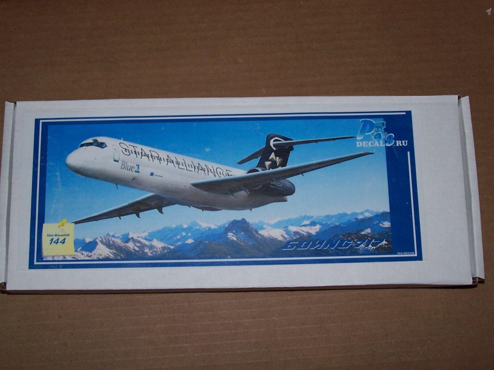 1 144 Pas Model Boeing 717 Star Alliance resin model kit