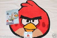 Angry Birds Bath Fabric Shower Curtain And Rug 2 Pc Set 002