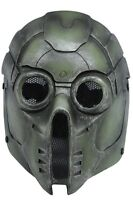 Airsoft Paintball Wire Mesh Protection Green Monster Mask Cosplay Halloween F645