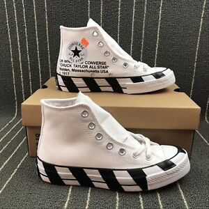 Details about Converse x Off White Shoes SHOES SNEAKERS NEW NEW with Box show original title