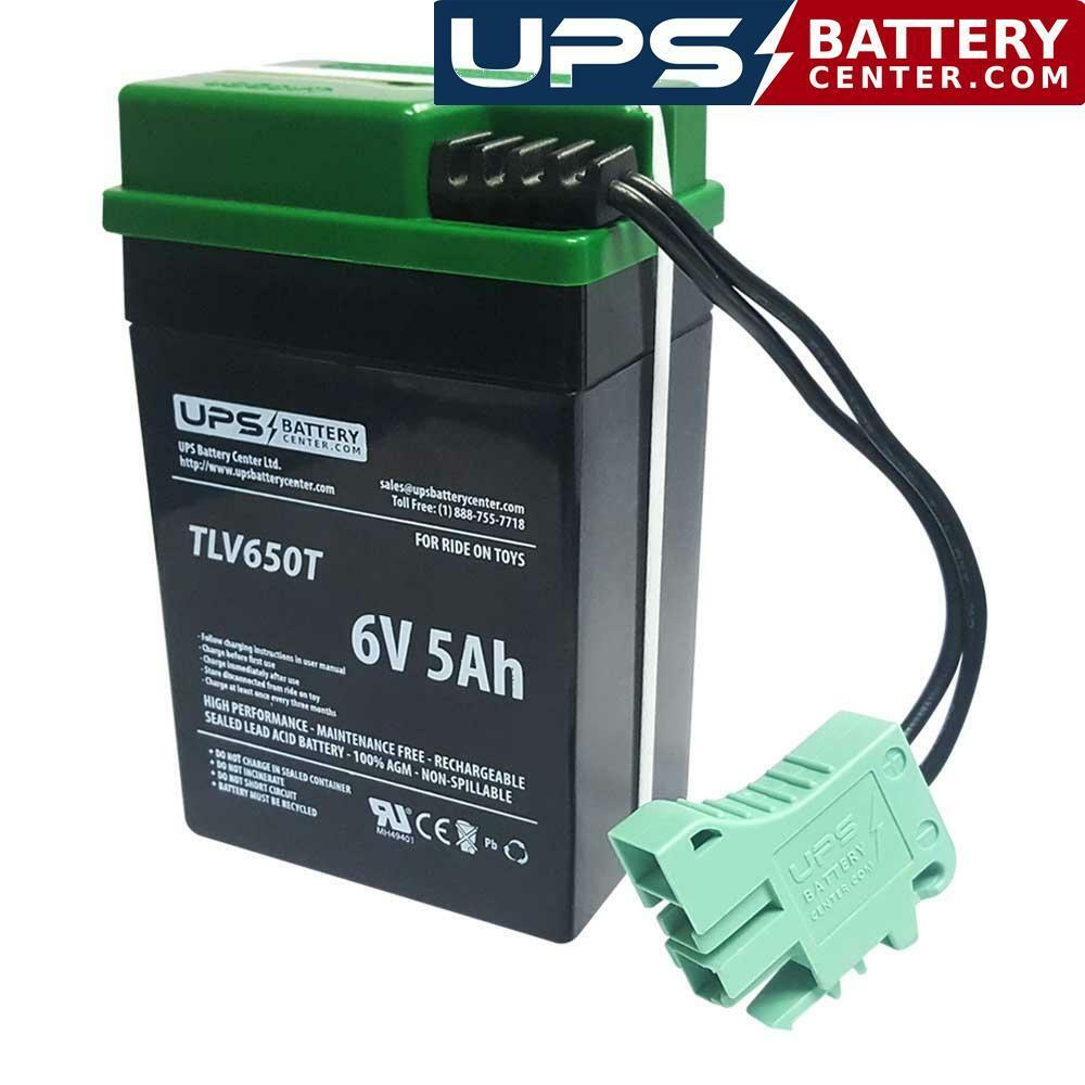 Peg Perego 6V Mini Ducati Compatible Replacement Battery. Free Shipping