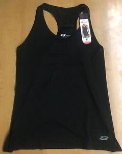 Skechers-Sport-para-mujer-Sports-Chaleco-Medio-Skecher-Gimnasio-Desgaste-Racer-Back-Vest