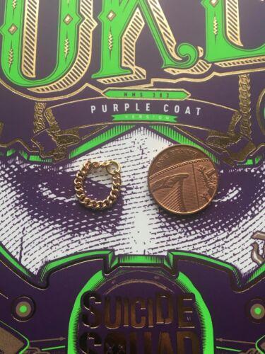 HOT TOYS SQUADRA suicida Joker Viola Cappotto VER LINK Braccialetto Loose SCALA 1//6th