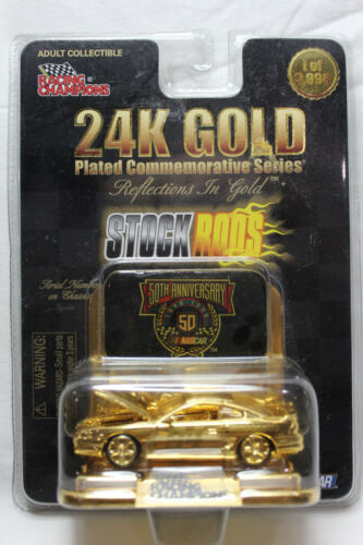 Racing Champions 1:64 Scale 24K Gold BILL ELLIOTT McDONALD/'s #94 STOCK RODS