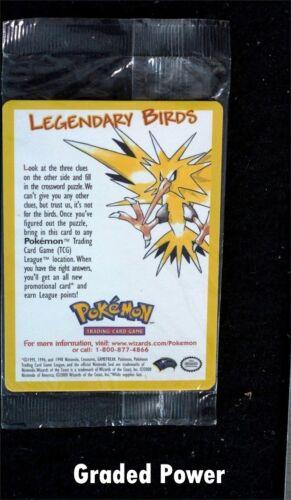 Pokemon Black Star Promo Legendary Birds ARTICUNO #22 Sealed New