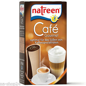 Natreen-Spenderdose-500-Susstoff-Tabs-Cafe-Gourmet-sweetener-Tabletten-Cafe