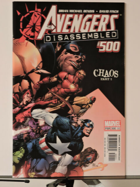 The Avengers Disassembled Chaos #500-503 & finale  (1995.Marvel) Full Set