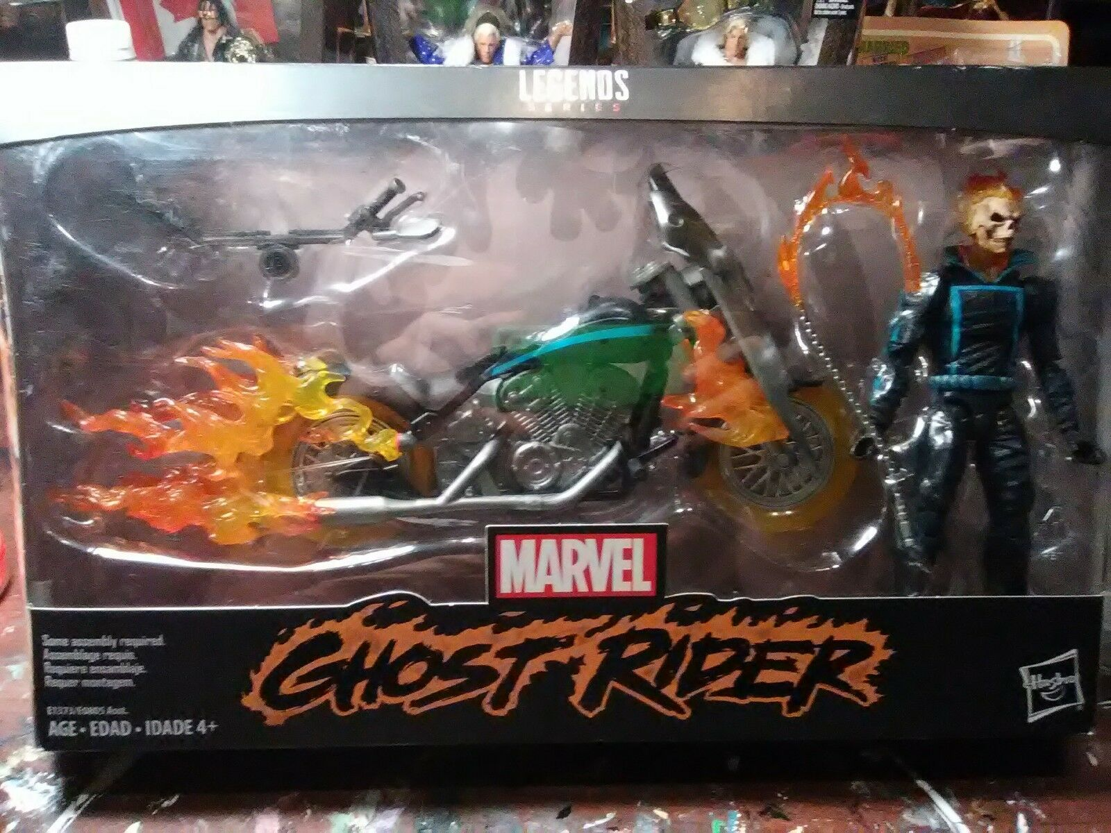 Marvel legends series ghost rider