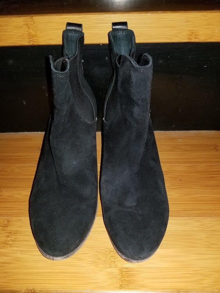Rag & Bone Dixon para mujer mujer mujer botas al Tobillo Gamuza Negro 227572  793 Talla 38  los últimos modelos