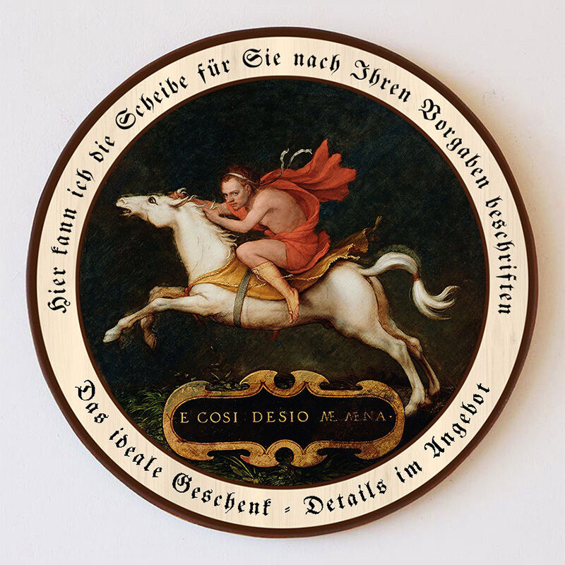 Rode the passion of Hans Holbein Horse Protect Disc 55cm request text 74
