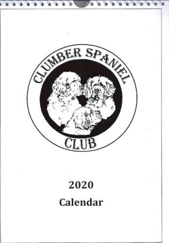 2020 CLUMBER SPANIEL CLUB CALENDAR