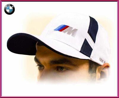 Bmw M Power Cappellino / Bmw Unisex Baseball Cap, Cotone. Bianco Con ///m Logo