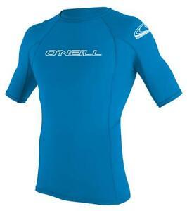 Rash Vest Sun Protection Vest T Shirt Top ONeill Boys Premium Skins UPF50