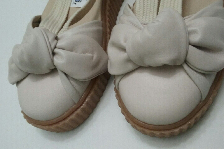Puma Fenty By Rihanna Damens Bow Creeper Sandale Natural Oatmeal Größe 5.5