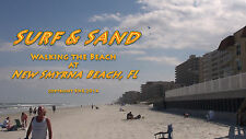 SURF & SAND Treadmill Walk on New Symrna Beach Florida, Exercise, Relaxation DVD