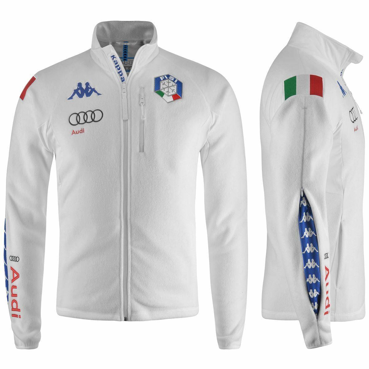 Fisi 2020 Kappa Italia Audi Ski Team Polar 6CENTO 687 Cuello Viento 908