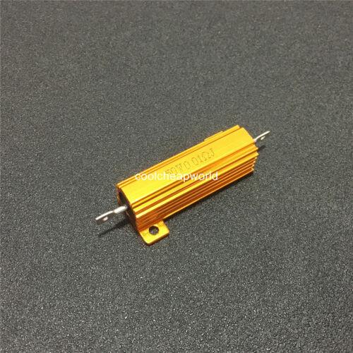 1pcs 50W Watt Power Metal Shell Case Wirewound Resistor 0.01R to 100K Ohm ±5/% J