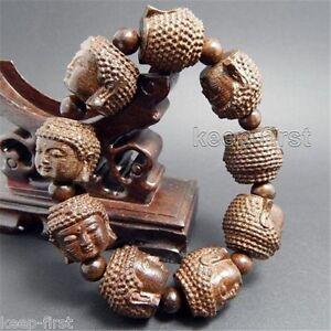 Fragrant-wood-Carved-Gautama-Buddha-Head-Buddhist-Prayer-Bead-Mala-Bracelet