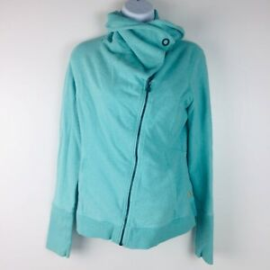 Zip Petite Flow Hatha Femme Poches Lucy Slanted Seafoam Vert Jacket pI0axHq