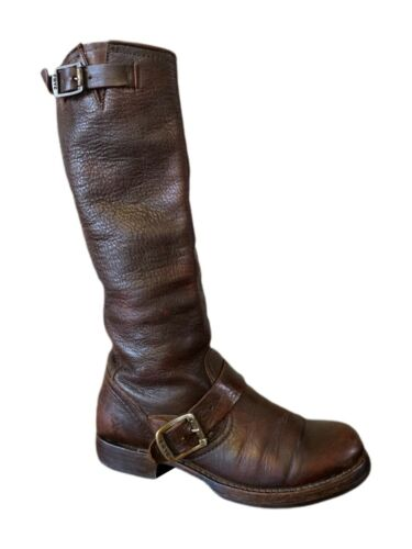 Frye Veronica Boots Frye Boots Brown Leather Knee