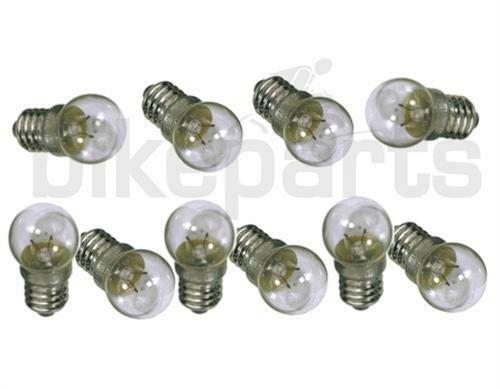 10 x Ersatzbirnen 6V 2,4W Glühbirne für Standardscheinwerfer Birne 6V//2,4W Lampe