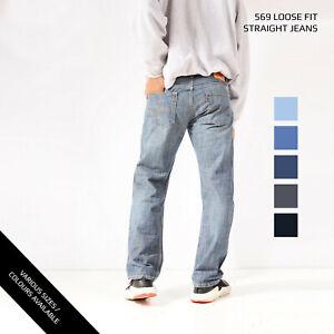 LEVIS-569-LOOSE-STRAIGHT-LEG-JEANS-DENIM-GRADE-A-W30-W32-W34-W36-W38-W40