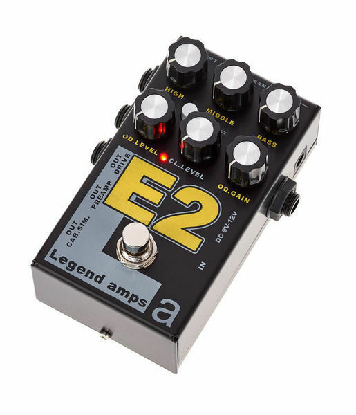 AMT E2 (Engl) - 2 channels guitar preamp   distortion pedal